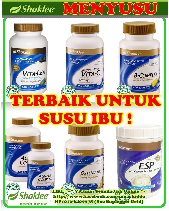 SET MENYUSU OPTIMUM SHAKLEE